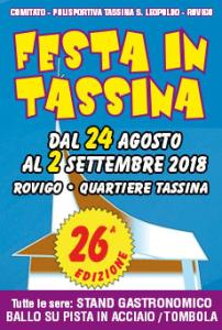 Festa in Tassina