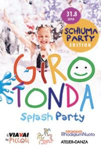 Girotonda Splash e Schiuma Party