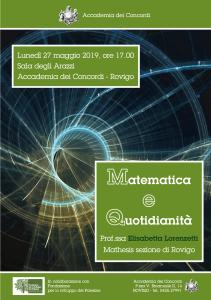Matematica e quotidianità