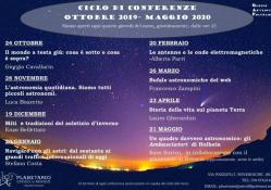 Ciclo di Conferenze per adulti in Planetario