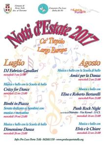 Notti d'estate 2017 - Musica e ballo con: Elvis e le Chiare